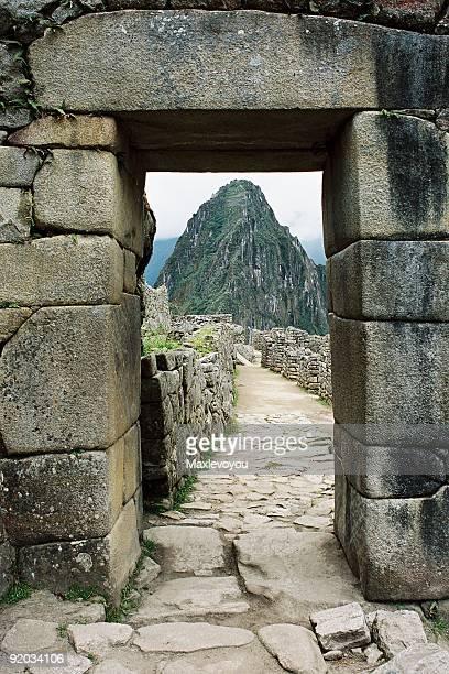 Paisaje urbano de Machu Picchu