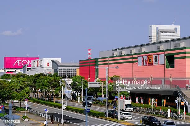 Cityscape of Makuhari, Chiba Prefecture, Japan