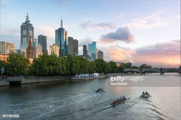Cityscape of Melbourne