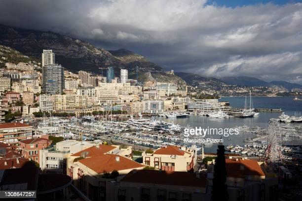 cityscape of montecarlo - massimo pizzotti foto e immagini stock