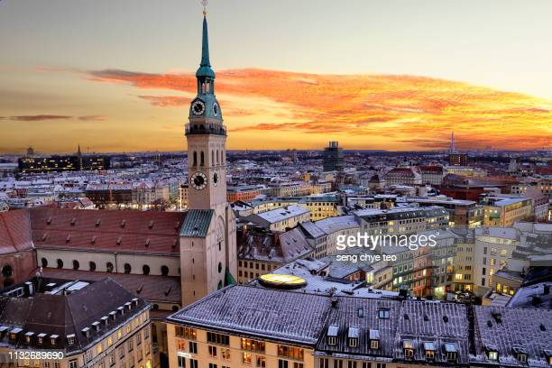 cityscape of munich - germany 個照片及圖片檔