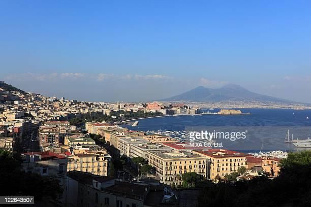 Cityscape of Naples, Campania, Italy