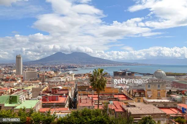 cityscape of naples - gwengoat stock pictures, royalty-free photos & images