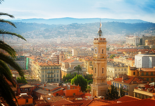 cityscape of Nice, France 591826796