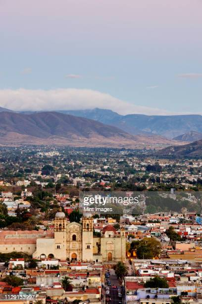 cityscape of oaxaca - oaxaca stock pictures, royalty-free photos & images