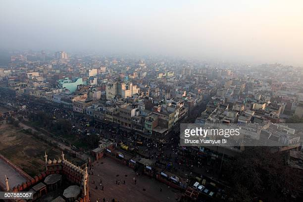 Cityscape of Old Delhi