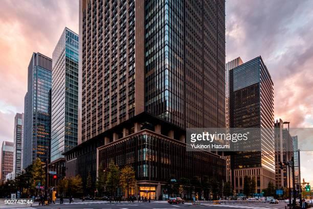 Cityscape of Otemachi , Tokyo