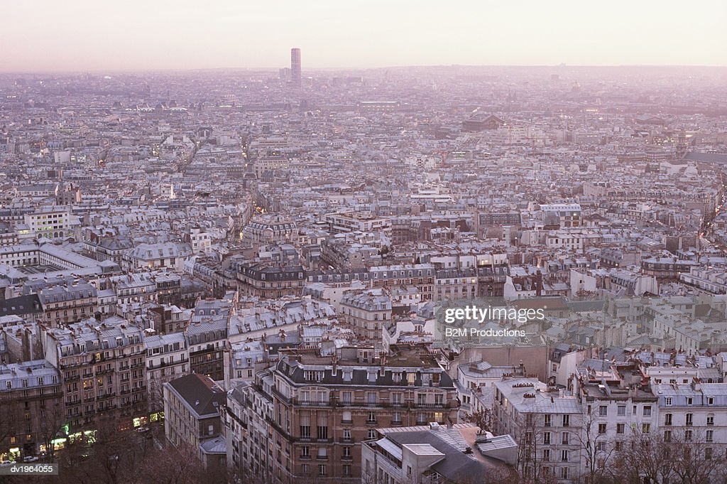Cityscape of Paris, France : Stock Photo