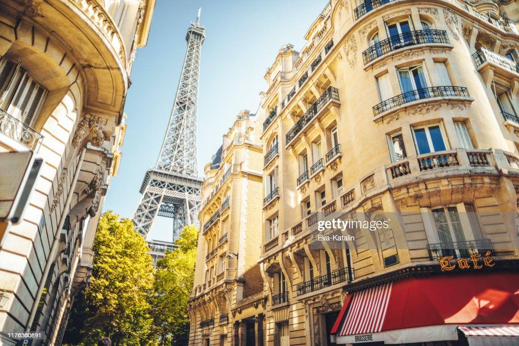 Paisaje urbano de París : Foto de stock