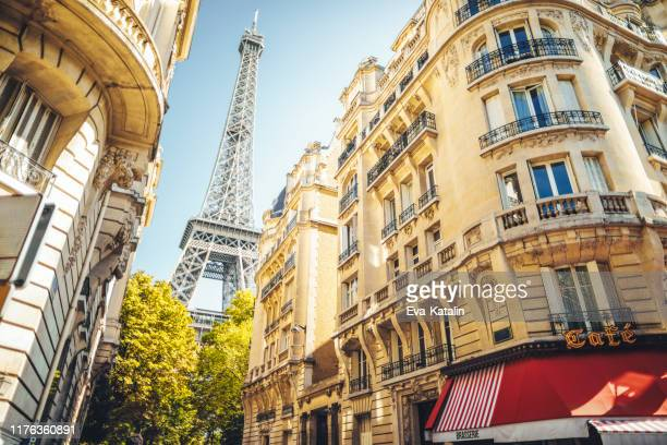 cityscape of paris - international landmark stock pictures, royalty-free photos & images