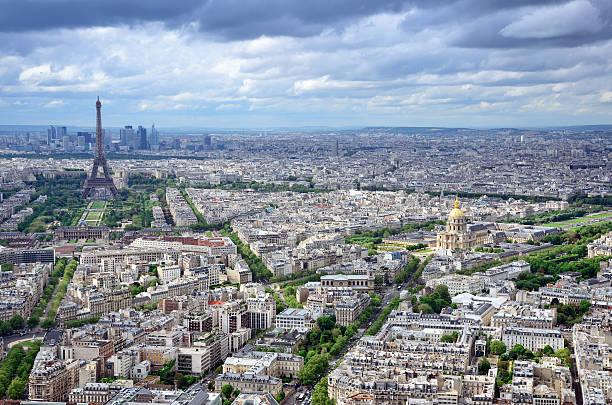 Cityscape Of Paris Wall Art