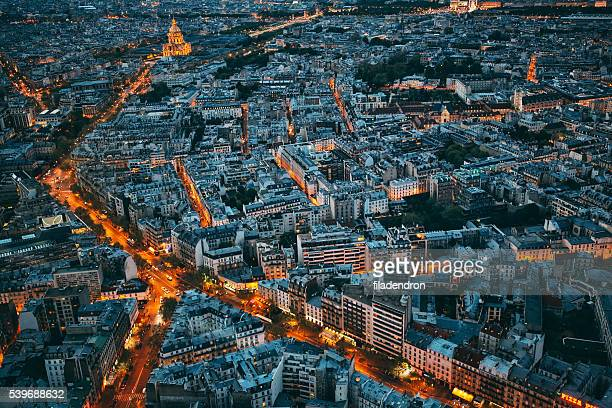 cityscape of paris - europe stock pictures, royalty-free photos & images