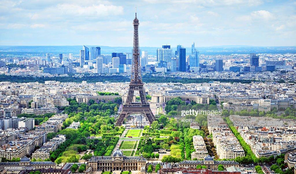 Cityscape of Paris : Stock Photo