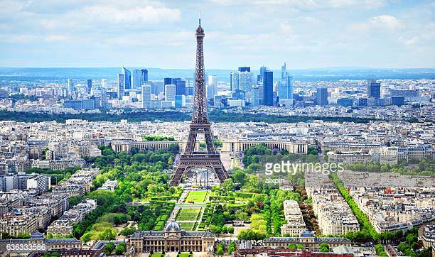 cityscape of paris - paris stockfoto's en -beelden