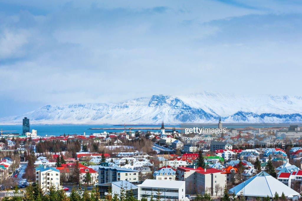 Cityscape of Reykjavik, Iceland : Stock Photo