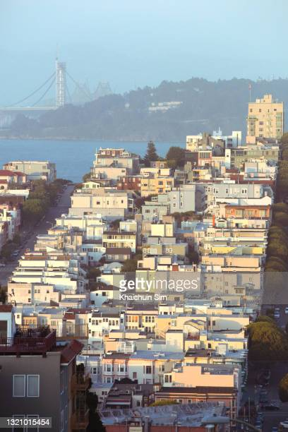 cityscape of san francisco - township stock pictures, royalty-free photos & images