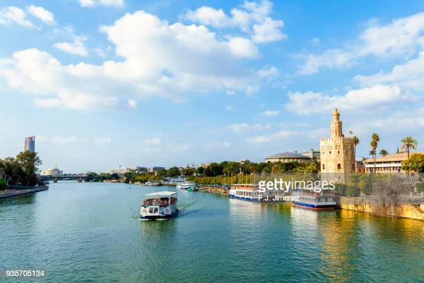 cityscape of seville - seville stock pictures, royalty-free photos & images