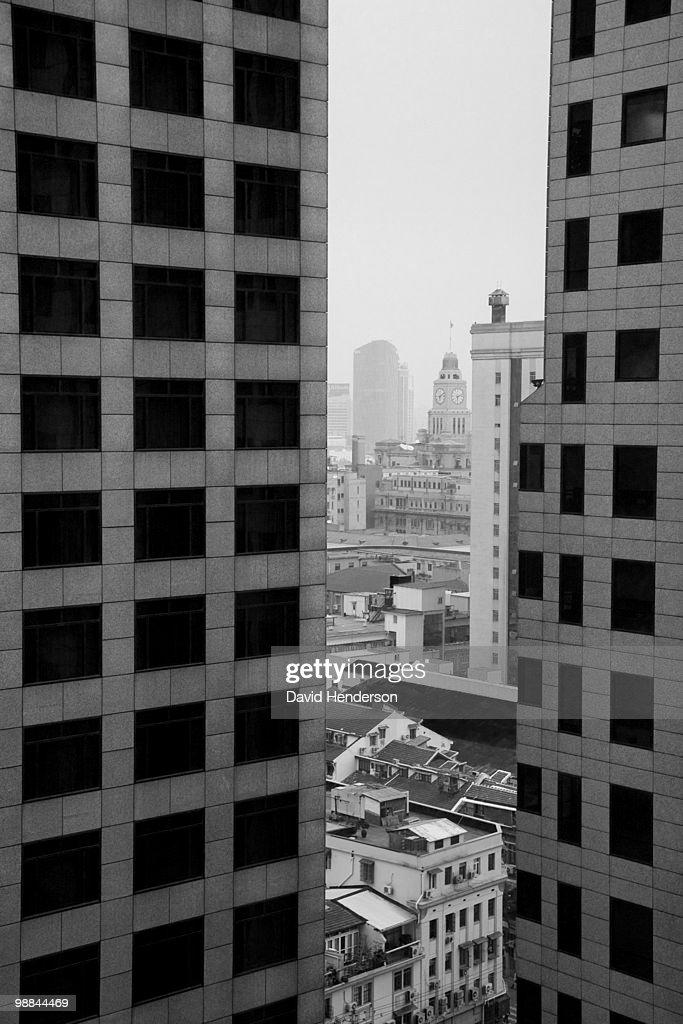 Cityscape of Shanghai, China : Stock Photo