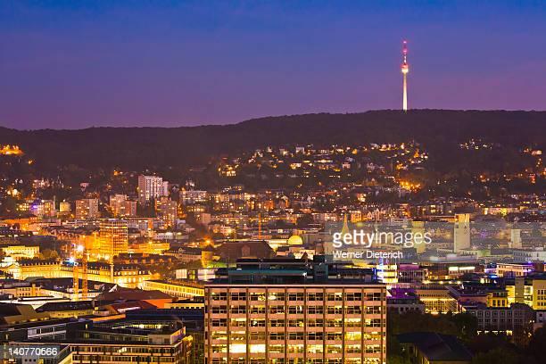 Cityscape of Stuttgart, Baden-Wurttemberg, Germany