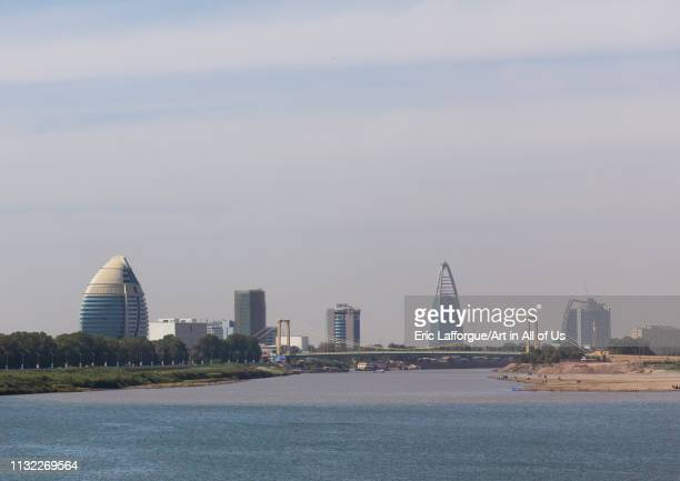 Cityscape of the modern area, Khartoum State, Khartoum, Sudan on January 4, 2019 in Khartoum, Sudan.