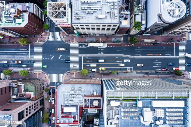 cityscape of tokyo and huge sky - real estate developer stock pictures, royalty-free photos & images