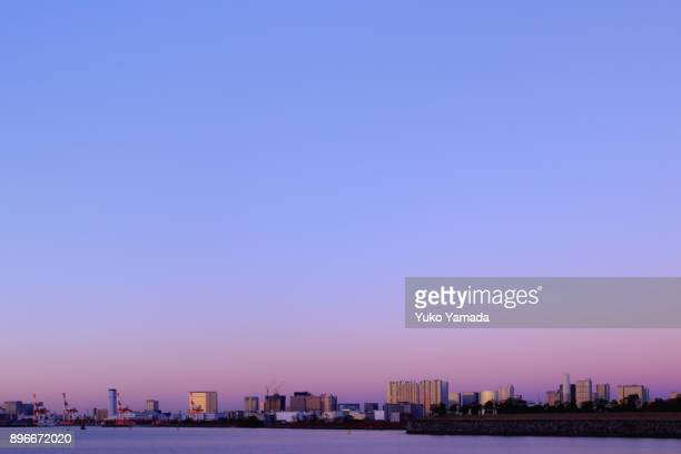 Cityscape of Tokyo at Dawn