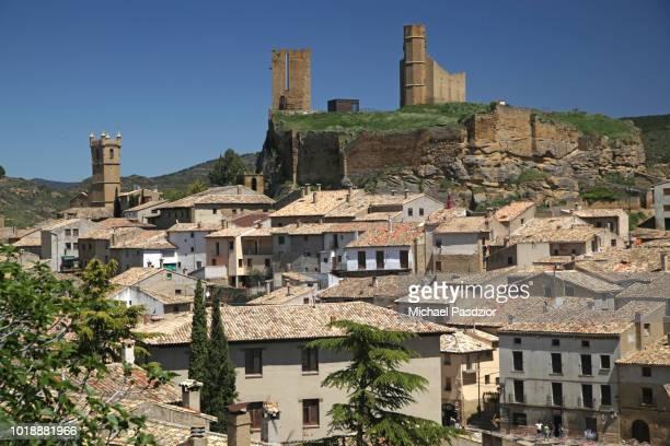 cityscape of Uncastillo