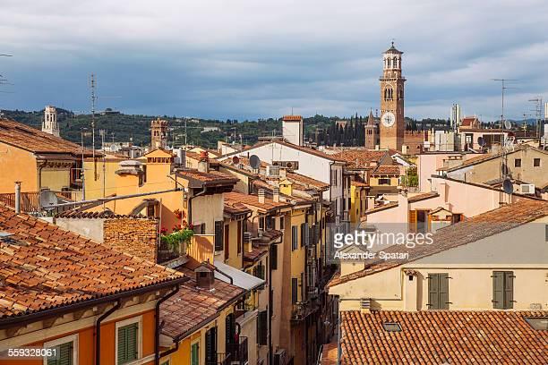 Cityscape of Verona, Italy