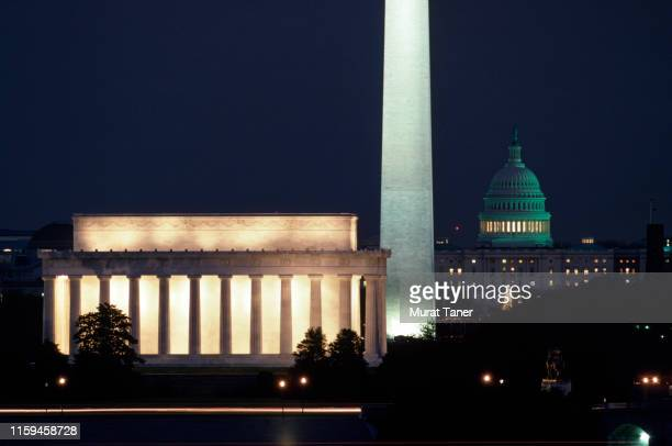 cityscape of washington, dc - politics stock pictures, royalty-free photos & images