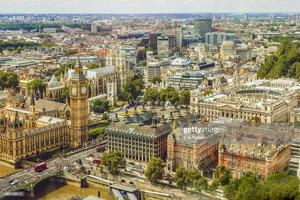 Cityscape of Westminster, London : Stock Photo