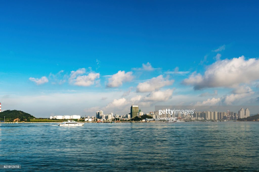 Cityscape of Xiamen, Fujian, China : Stock Photo