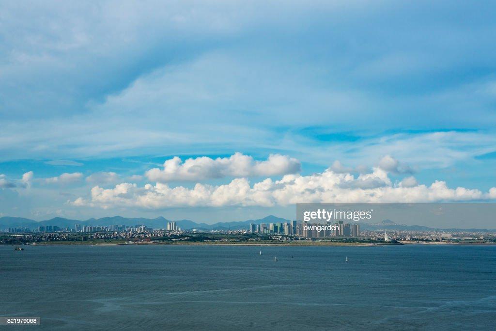 Cityscape of Xiamen, Fujian, China : Stock Photo