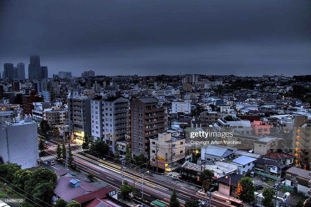 Cityscape of Yokohama : Bildbanksbilder