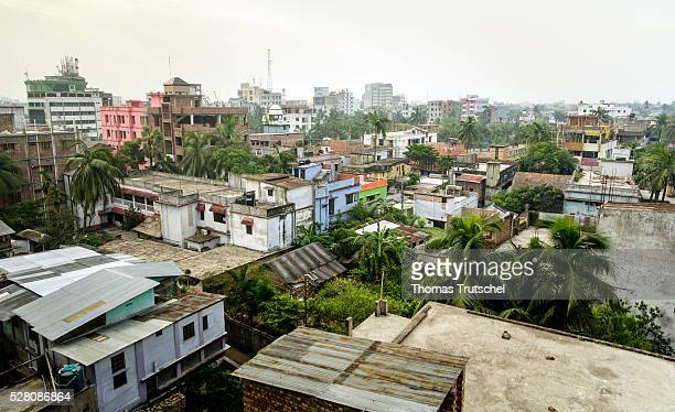 Cityscape on April 12 2016 in Khulna Bangladesh