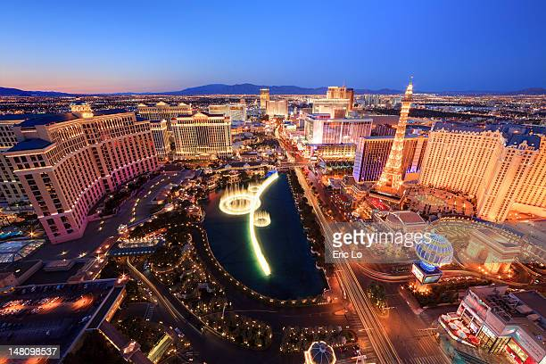 cityscape - las vegas stock pictures, royalty-free photos & images