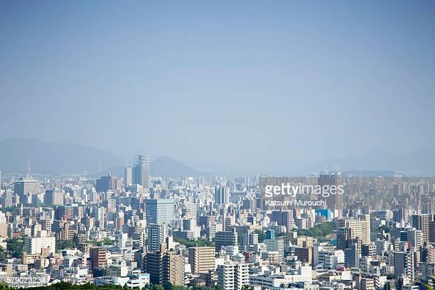 cityscape - hiroshima fotografías e imágenes de stock