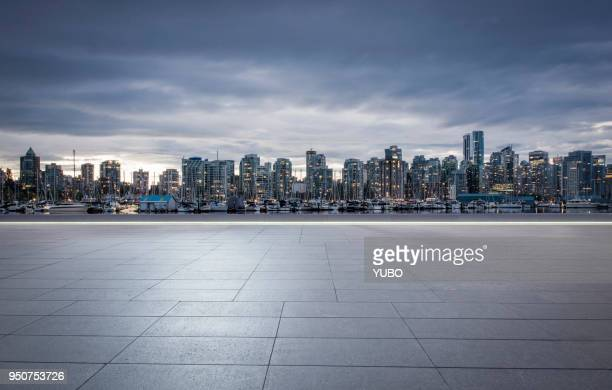 cityscape - vancouver canada stock pictures, royalty-free photos & images
