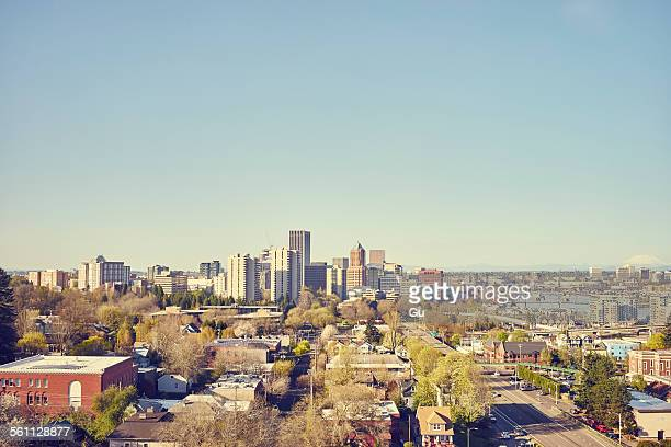 Cityscape, Portland, Oregon, USA