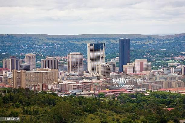 cityscape, pretoria, gauteng, south africa - pretoria stock pictures, royalty-free photos & images