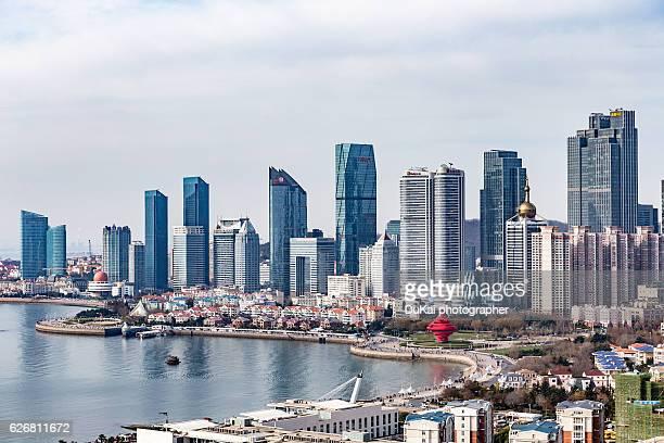 Cityscape, Qingdao, Shandong Province, China
