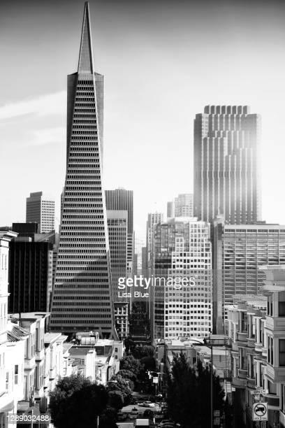 サンフランシスコの街並み。 - サンフランシスコ金融地区 ストックフォトと画像