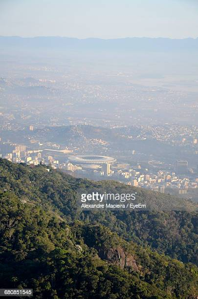 Cityscape Seen From Corcovado