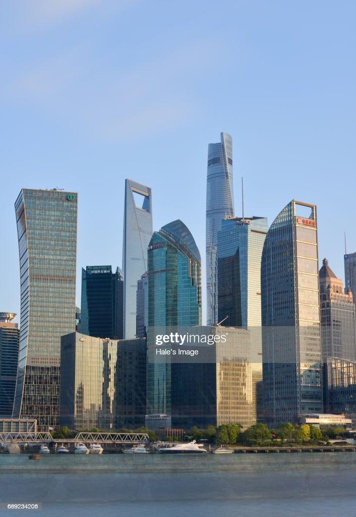 Cityscape, Shanghai, China : Stock Photo
