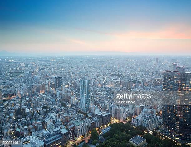 Cityscape, Tokyo, Japan