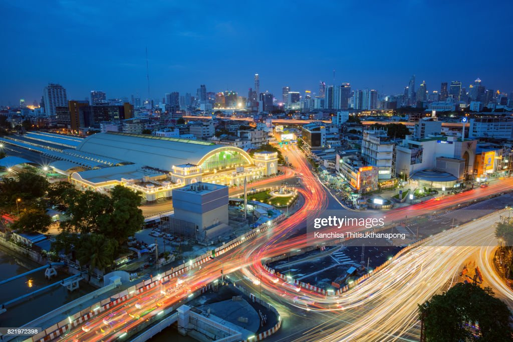 Cityscape view of Bangkok modern office business building in business zone at Bangkok,Thailand. Bangkok is the capital of Thailand and Bangkok is also the most populated city in Thailand. : Stock Photo