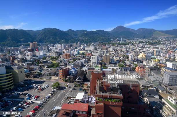 別府市の街並み風景、大分、九州、日本 - 大分県 ストックフォトと画像