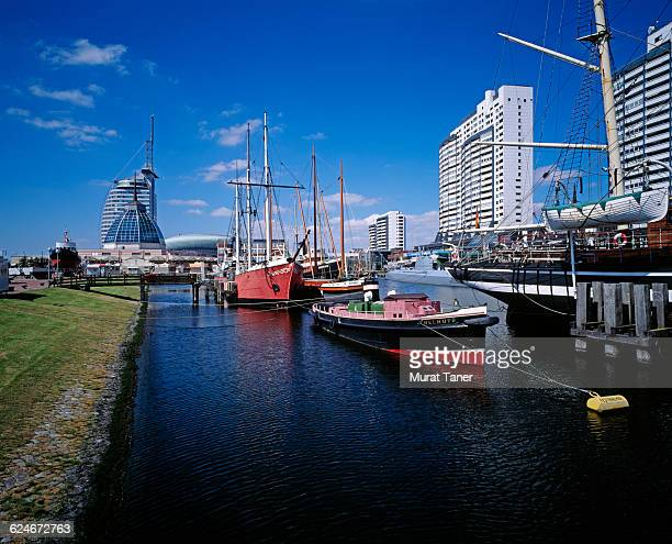 Cityscape view of Bremerhaven
