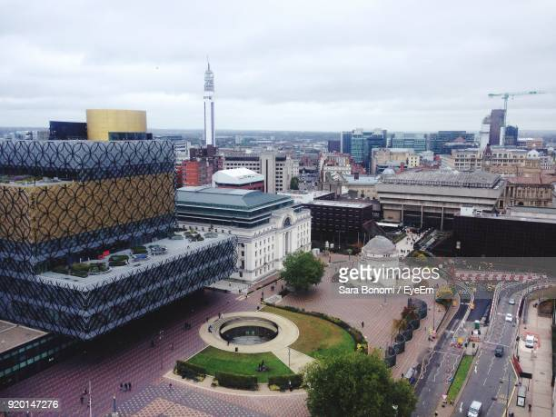 cityscape with buildings in background - west midlands stock pictures, royalty-free photos & images