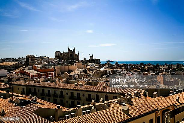 Cityscape With Palma Cathedral Against Sky
