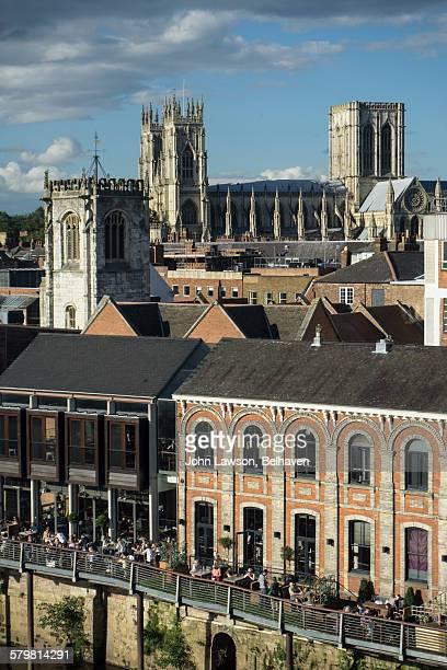 Cityscape, York, England